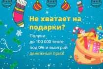 Новогодние конкурсы от CCloan.kz