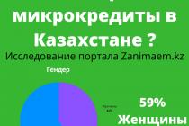 Кто берет деньги в МФО: исследование Занимаем.kz